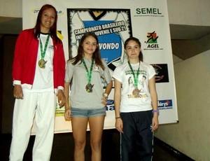 Elissa Pimentel, taekwondo Amazonas (Foto: Divulgação)