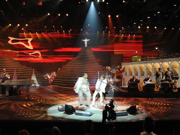 Arlindo Cruz foi um dos convidados do Rei (Foto: Divulgação/TV Globo)