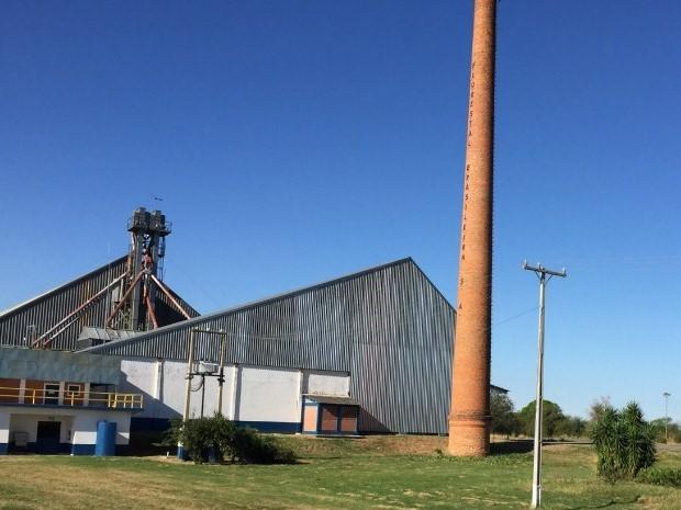 Armazém do terminal portuário de Porto Murtinho, no sudoeste de Mato Grosso do Sul (Foto: Divulgação/Semade)