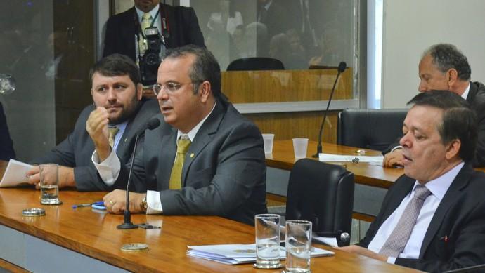 Audiência MP do Futebol clubes (Foto: Ana Volpe / Agência Senado)