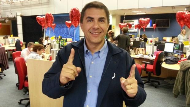 Jasson Goulart acha que, na estreia, o Brasil ficará no empate (Foto: Divulgação/RPC TV)