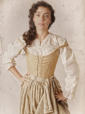 Letícia Persilles será Anita, mulher que sonha em encontrar um príncipe encantado (Foto: Fábio Rocha/Gshow)