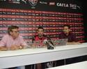 """Sinval Vieira promete novos reforços e avisa: """"Estamos montando um elenco"""""""
