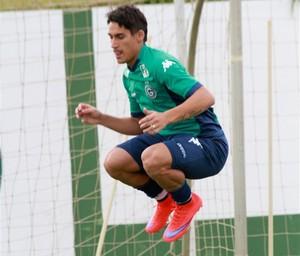 Gimenez quer se firmar no Goiás (Foto: Rosiron Rodrigues / Goiás E.C.)