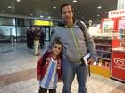 Argentinos trazem filhos para ver Messi em jogo da Copa no RS
