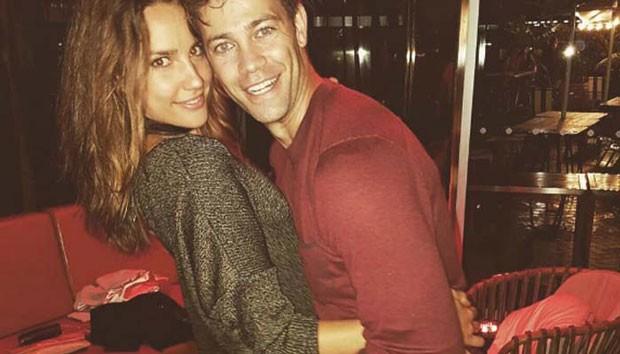 Rachel e o marido (Foto: Reprodução)