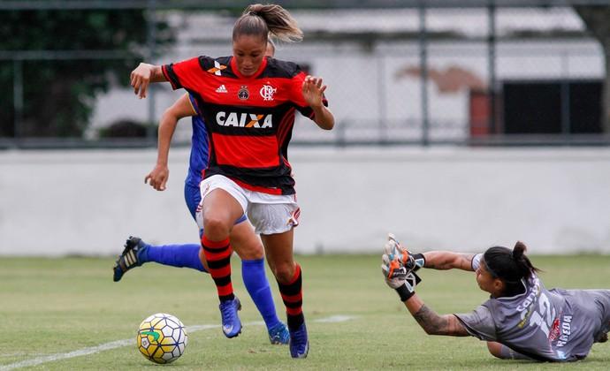 Flamengo x São José Brasileiro Feminino (Foto: Divulgação/C.R. Flamengo)