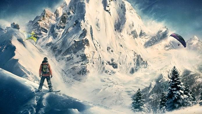Todo o jogo se passa nos nevados alpes franceses (Foto: Divulgação)