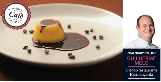 Bolinho de queijo  da Serra da Canastra com calda de café  (Foto: Ricardo Jaeger/ÉPOCA)