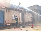 Incêndio atinge barracão da sede da Prefeitura de Limeira; não há feridos