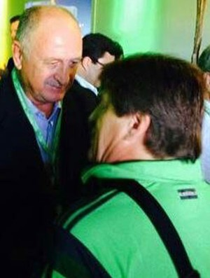 Miguel Herrera e Felipão Fifa (Foto: Reprodução / Twitter)