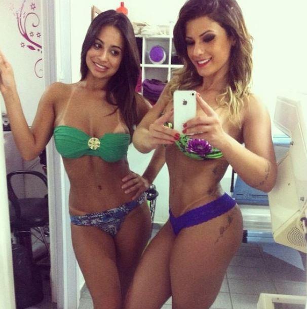 Babi Rossi e Liliane Lima (Foto: Instagram/Reprodução)