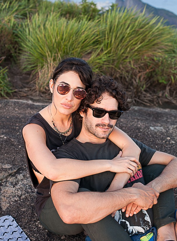 Giselle Itié e Guilherme Winter (Foto: Mariana Winter)