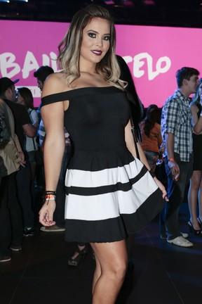 Geisy Arruda em show em São Paulo (Foto: Rafael Cusato/ Foto Rio News)