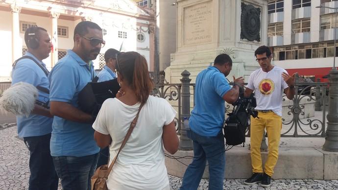 Bairro do Comércio é o cenário da semana (Foto: TV Bahia)