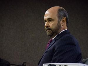Augusto farias é a terceira testemunha a depor nesta terça-feira. (Foto: Jonathan Lins/G1)