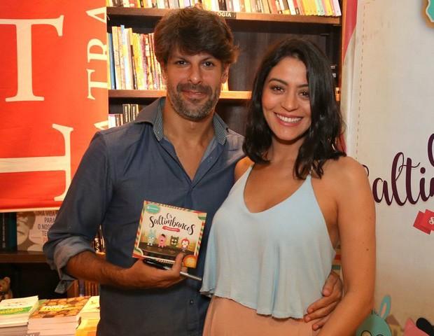 Carol Castro e Felipe Prazeres (Foto: Andre Freitas/AgNews)