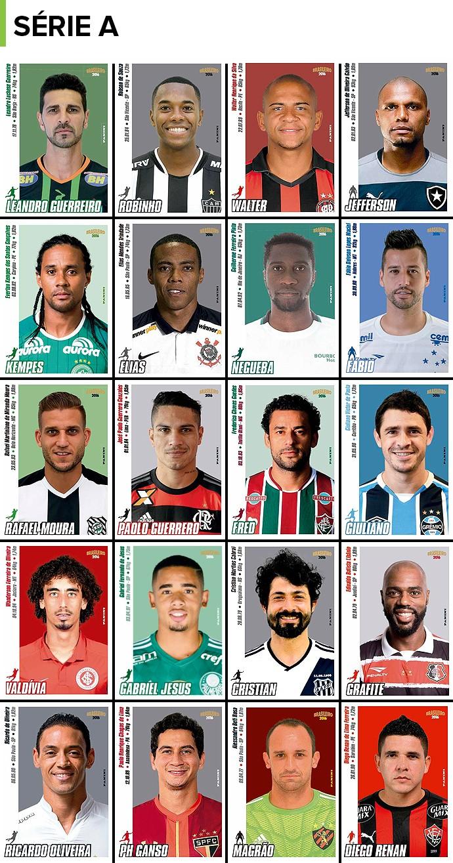 Figuurinhas Brasileirão Série A