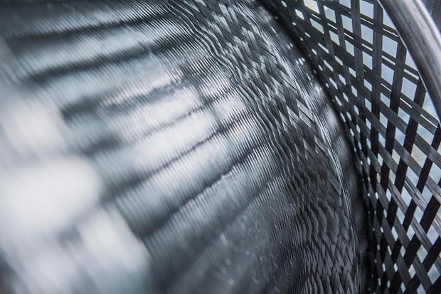 Roda Porsche de fibra de carbono (Foto: Divulgação)
