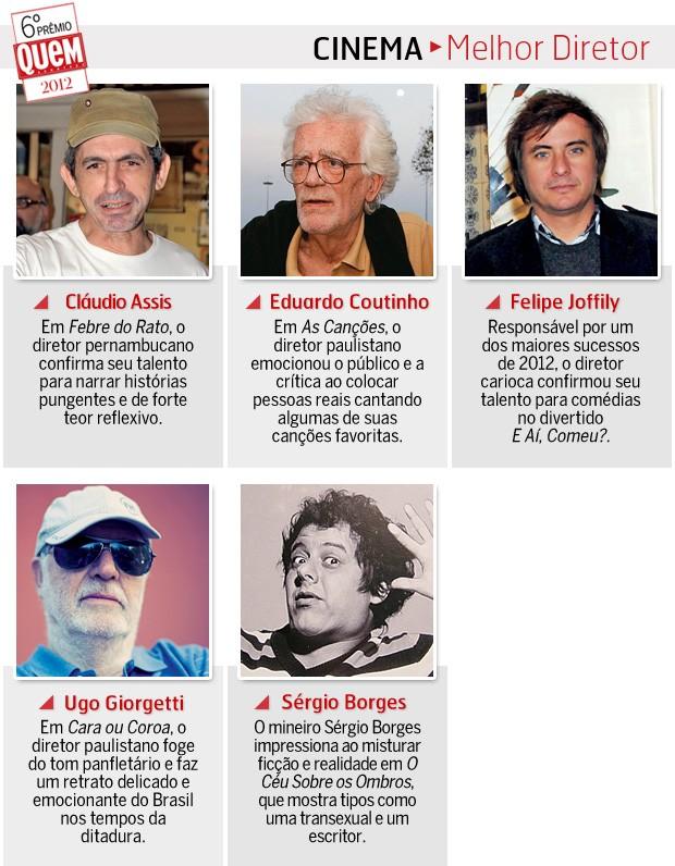 Melhor diretor (Foto: Revista QUEM)
