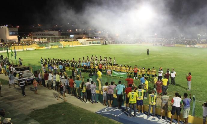 Picos e Madre Celeste pela Copa do Brasil Feminina (Foto: Wenner Tito)