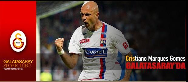 Cris, Galatasaray (Foto: Reprodução)