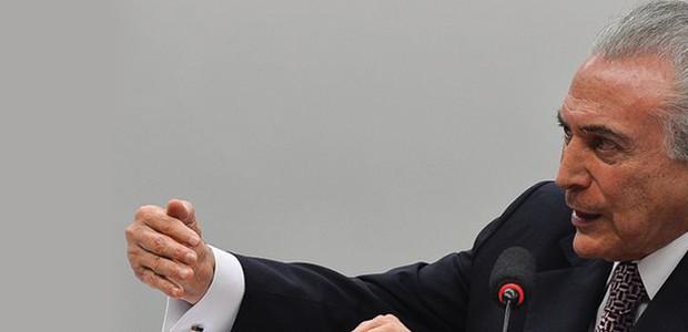 Vice- presidente da República Michel Temer  (Foto: Antônio Cruz / Agência Brasil )