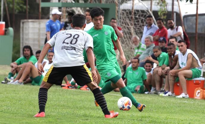 Guarani x Inter de Limeira jogo-treino Campinas (Foto: Mayara Pernetti / Memory Press / GFC)