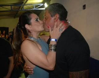 Alexandre Frota e Núbia Ólliver (Foto: Francisco Cepeda/Ag.News)
