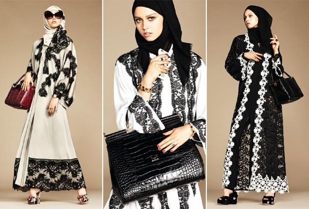 Dolce and Gabbana cria coleção dedicada a mulheres árabes (Foto  Divulgação) 15c6cc3016
