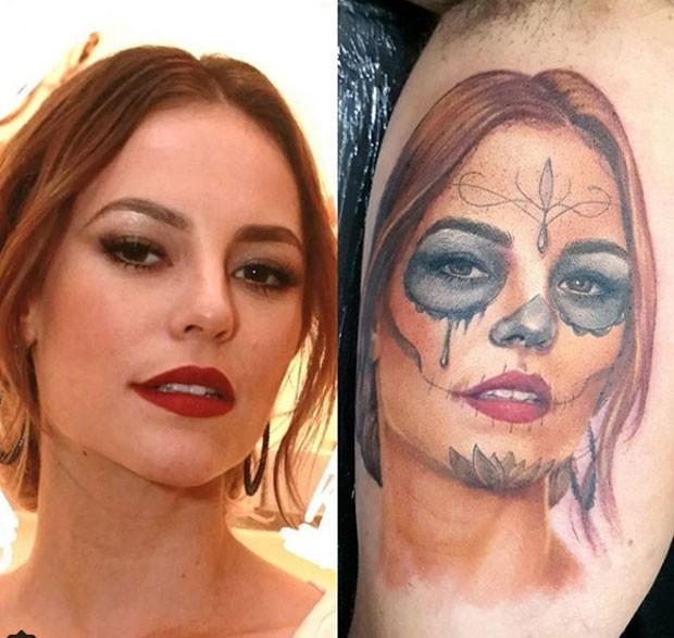 Paolla  Oliveira: tatuagem  (Foto: Reprodução Instagram)