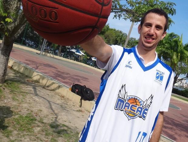Duda Machado Macaé basquete basquete (Foto: Divulgação/MPC Rio)