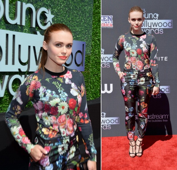 Holland Roden, de Ted Baker (Foto: Getty Images)