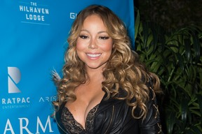 Mariah Carey em evento em Los Angeles, nos Estados Unidos (Foto: Emma McIntyre/ Getty Images)