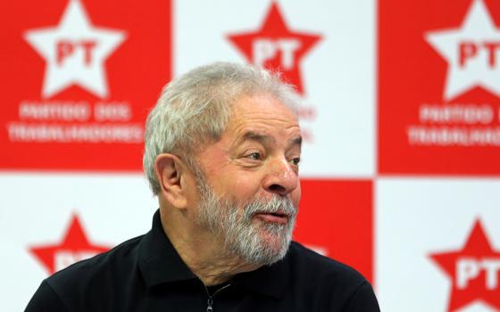 O ex-presidente Lula (Foto: Paulo Whitaker/REUTERS)