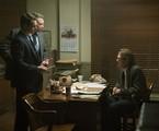 Holt McCallany, Jonathan Groff e Thomas Francis Murphy em 'Mindhunter'   Patrick Harbron/Netflix