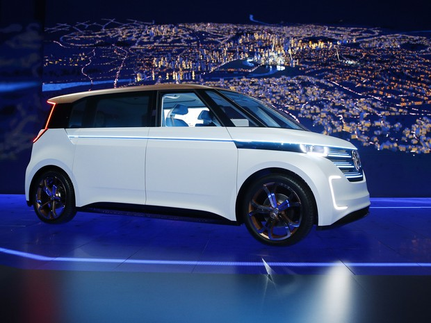Volkswagen Budd-e Concept (Foto: AP Photo/John Locher)