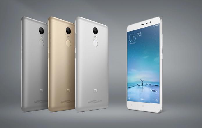 Redmi Note 3 é o primeiro smartphone da Xiaomi a usar leitor de impressões digitais (Foto: Divulgação/Xiaomi)