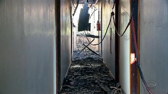 Após incêndio no RS, idosos devem se mudar para seminário desativado