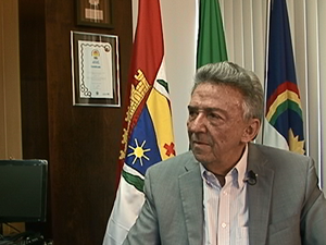 José Queiroz, prefeito de Caruaru, Pernambuco (Foto: Reprodução/ TV Asa Branca)