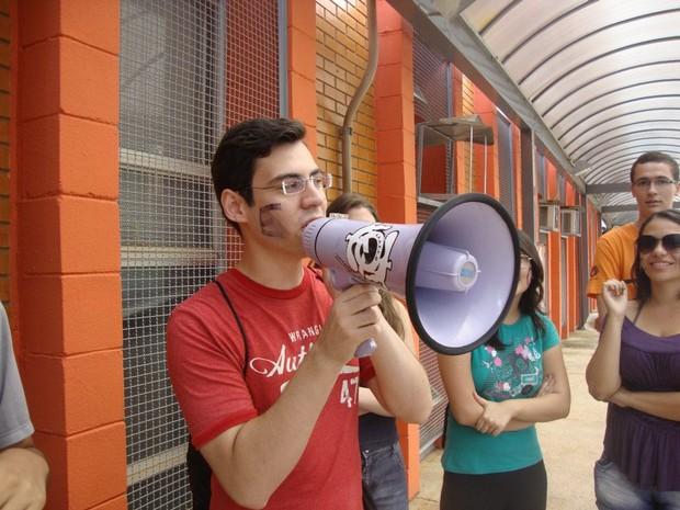 Glauco Santiago (Foto: Pedro Santiago/G1)
