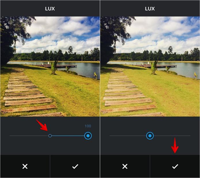 Removendo o efeito Lux (Foto: Reprodução/Helito Bijora)