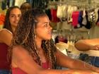 Crise afasta clientes e lojas na Saara, no Rio, ficam vazias no Natal