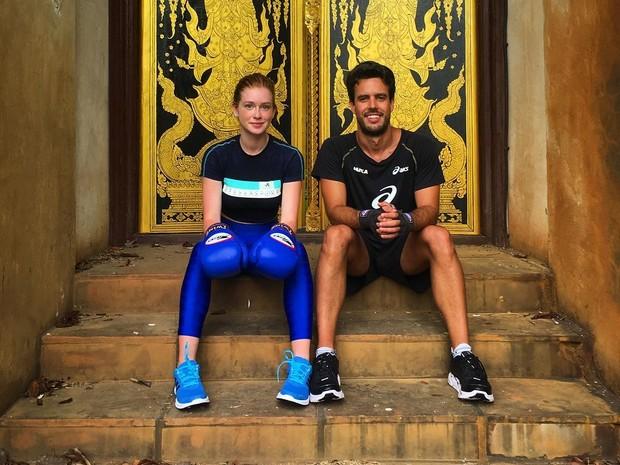 Marina Ruy Barbosa com o namorado, Xandinho Negrão, na Tailândia (Foto: Reprodução/Instagram)