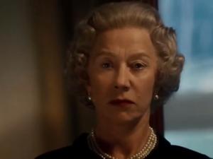 Helen Mirren como a Rainha Elizabeth em cena de 'A Rainha'