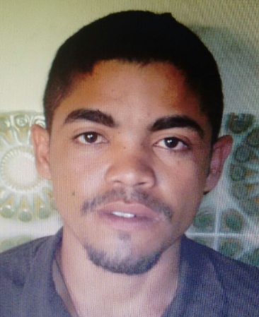 Welliton Silvestre dos Santos, um dos suspeitos de chacina em Poção, Pernambuco (Foto: Divulgação/ Polícia Civil)