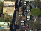 Contagem - 7h25: Carreta com problema mecânico prejudica trânsito