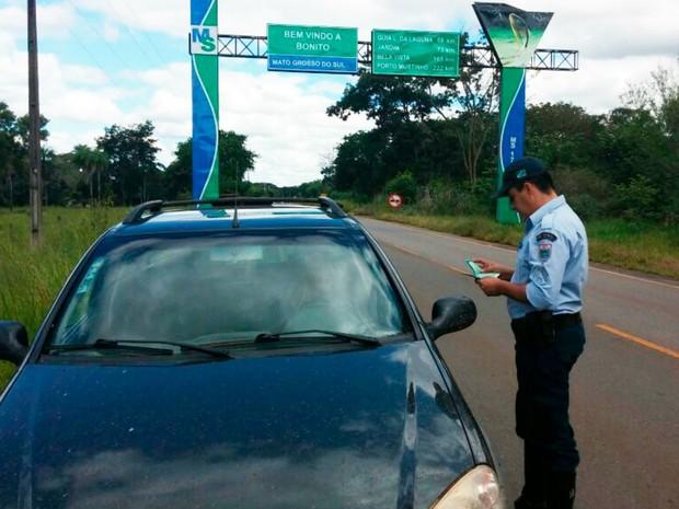 PMR realizou quatro dias de operação Páscoa nas rodovias estaduais de MS (Foto: Divulgação/ PMR)