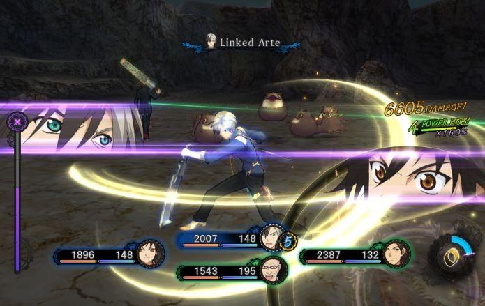 Os combates em Tales 2 permitem que você dê golpes em co-op (Foto: Reprodução)