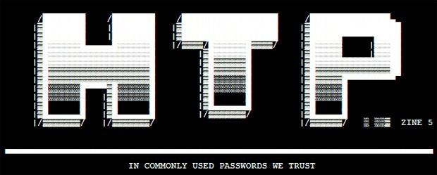 Formado há dois anos, HTP publica seus feitos em uma zine, como grupos antigos de hackers (Foto: Reprodução)